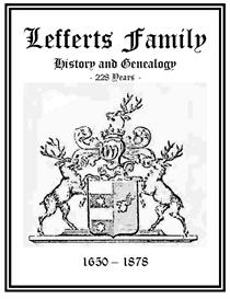 Lefferts Family History and Genealogy   eBooks   History