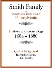 Smith Family History and Genealogy Bucks Co 1684 | eBooks | History