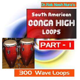 south american drum conga high - part - 1
