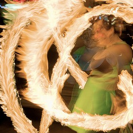 Poi Fire Dancing Lesson: 20110121 Combo (Intermediate) | Movies and Videos | Educational