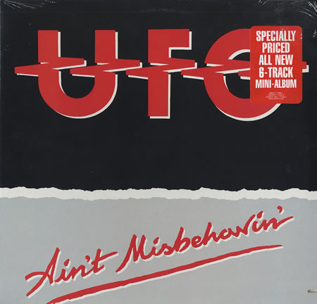 First Additional product image for - UFO Ain't Misbehavin' (1988) (METAL BLADE RECORDS) (U.S.A.) (7 TRACKS) 320 Kbps MP3 ALBUM