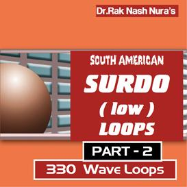 south american surdo drum low -part - 2