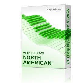 north american mallet drum loops