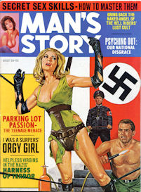 complete man's story magazine, august 1968
