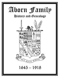 Aborn Family History and Genealogy   eBooks   History
