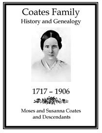 Coates Family History and Genealogy   eBooks   History