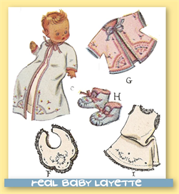 BABY LAYETTE Pattern | eBooks | Arts and Crafts
