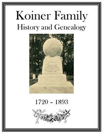 Koiner Family History and Genealogy | eBooks | History