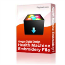 Health Machine Embroidery File | Other Files | Clip Art