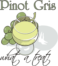 Pinot Gris Machine Embroidery File | Other Files | Graphics