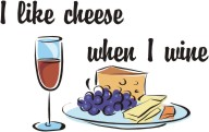 cheese-wine machine embroidery file