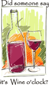 wine o clock machine embroidery file
