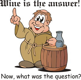 wine is the answer machine embroidery file