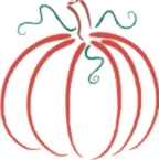 pumpkin machine embroidery file
