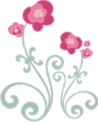 fleur de lis flowers machine embroidery file