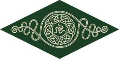 First Additional product image for - Irish Diamond Machine Embroidery File