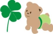 irish baby bear machine embroidery file