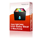 Irish Baby Bear 2 Machine Embroidery File | Other Files | Arts and Crafts