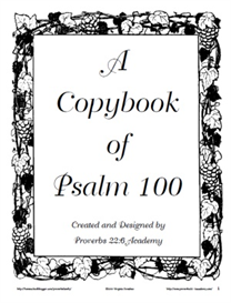 A Copybook of the Psalm 100 | eBooks | Education
