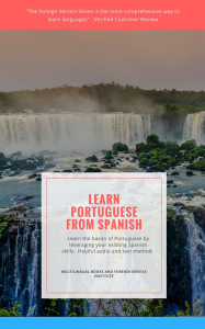 learn to speak  portuguese from spanish