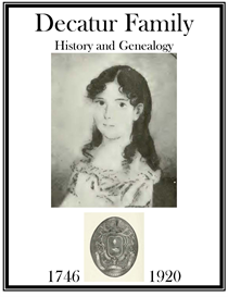 Decatur Family History and Genealogy | eBooks | History
