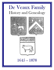DeVeaux Family History and Genealogy | eBooks | History
