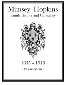 Munsey Hopkins Family History and Genealogy | eBooks | History