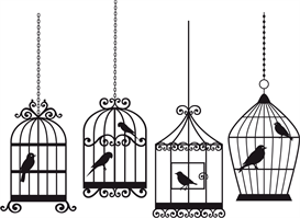 all 4 birdcages - separate files