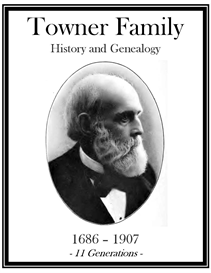 Towner Family History and Genealogy | eBooks | History