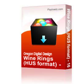 wine rings (hus format) - 16 files included