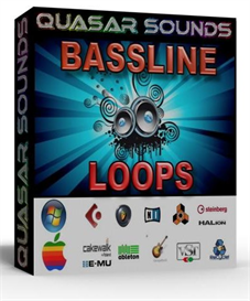 bassline loops  dance music styles  - wav loops