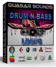 drum n bass   -  wave loops