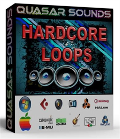 Hardcore Loops 180 Bpm -  24 Bit Wav Loops | Music | Soundbanks