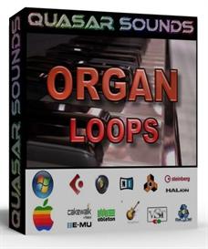 organ loops 130 bpm  -  24 bit wav loops