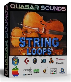 string loops -  dirty south - hip hop - rnb -  24 bit wav
