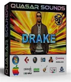 drake kit - drums - instruments  - kontakt reason logic