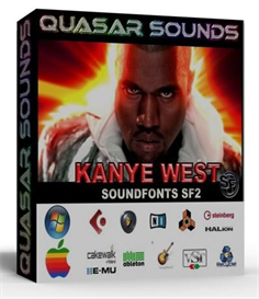 kanye west kit - drums instruments - kontakt logic reason