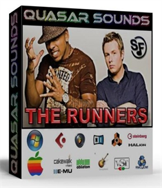the runners kit  - drums instruments - kontakt reason logic