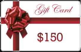 $150 Gift Card | Other Files | Documents and Forms