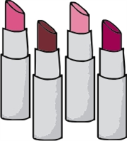lipstick - machine embroidery file