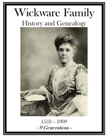Wickware Family History and Genealogy | eBooks | History