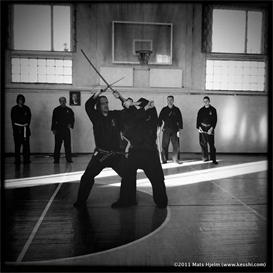 juttejutsu with mats hjelm