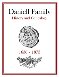 daniell family history and genealogy