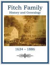 Fitch Family History and Genealogy | eBooks | History