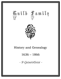guild family history and genealogy