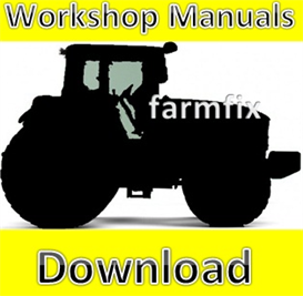 ford new holland 420 445 455a tractor service repair manual