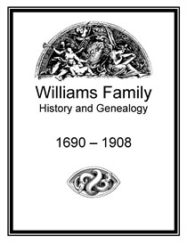 Williams Family History and Genealogy | eBooks | History