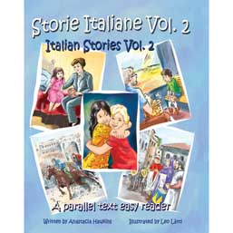 storie italiane volume 2  italian stories volume 2: a parallel text easy reader