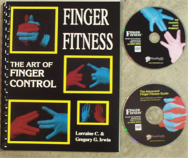 2 Finger Fitness Videos and E-book | Movies and Videos | Educational