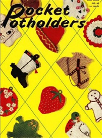 Pocket Pot Holders Book 69 - Crochet Pattern eBook | eBooks | Arts and Crafts
